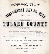 Title Page, Tulare County 1892